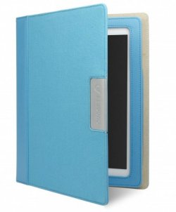 Cygnett Alumni Blue Canvas case for all Ipads (except Air)