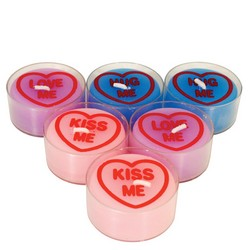 Love Heart Tealight Candles