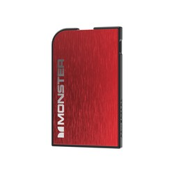 Monster Powercard Portable Charger Red