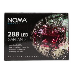 Noma 288 LED Garland Multicoloured Lights 1.4 Meters