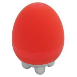 Wiki Heated Egg Massager Red